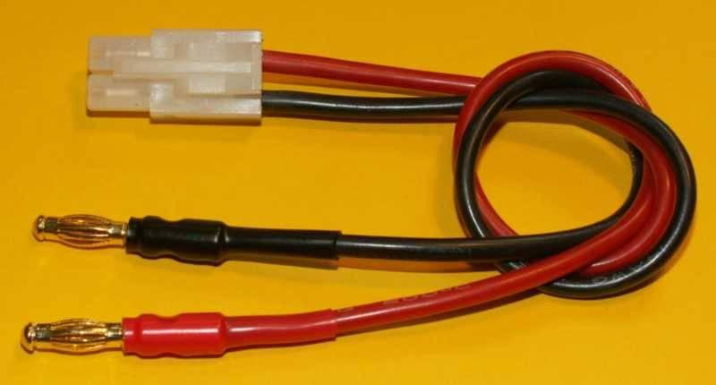 BEL - lepší nabídku nenajdete: Nabíjecí kabel s konektorem Tamiya.