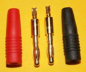 Banánky 4 mm - pár