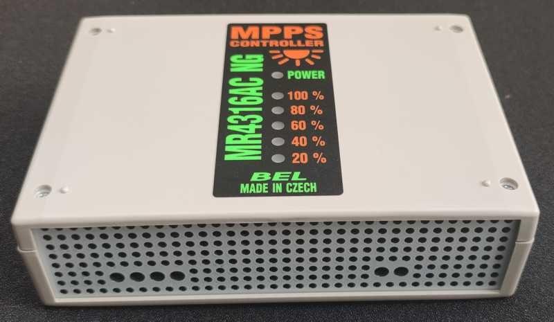 MPPS regulátor MR4316AC+ do rozvaděče