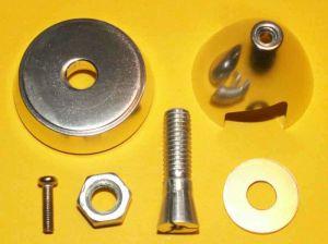 Kužel s unašečem 30/3 mm rozložený