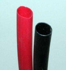 Bužírka průměr 6,5 mm červená