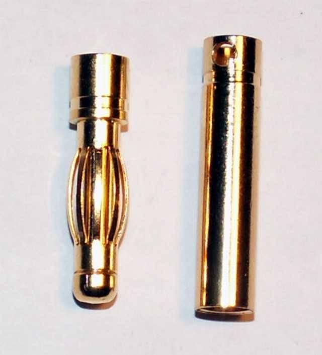 BEL - lepší nabídku nenajdete: Konektor 4 mm - pár.