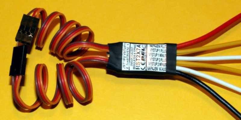 BEL - lepší nabídku nenajdete: Dvoukanálový spínač & regulátor RST2X7A. BEL