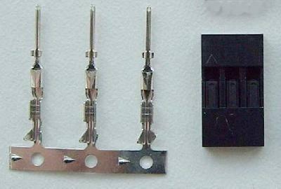 BEL - lepší nabídku nenajdete: Servokonektor kolíčky 3 piny.