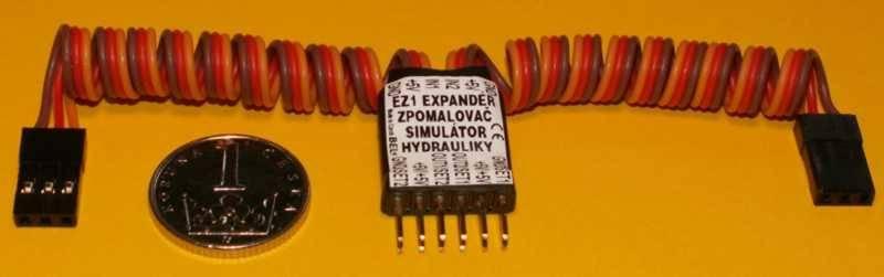 Dvoukanálový expandér, zpomalovač impulsů a simulátor hydrauliky EZ1