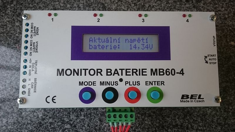 Monitor baterie MB60-4-12A
