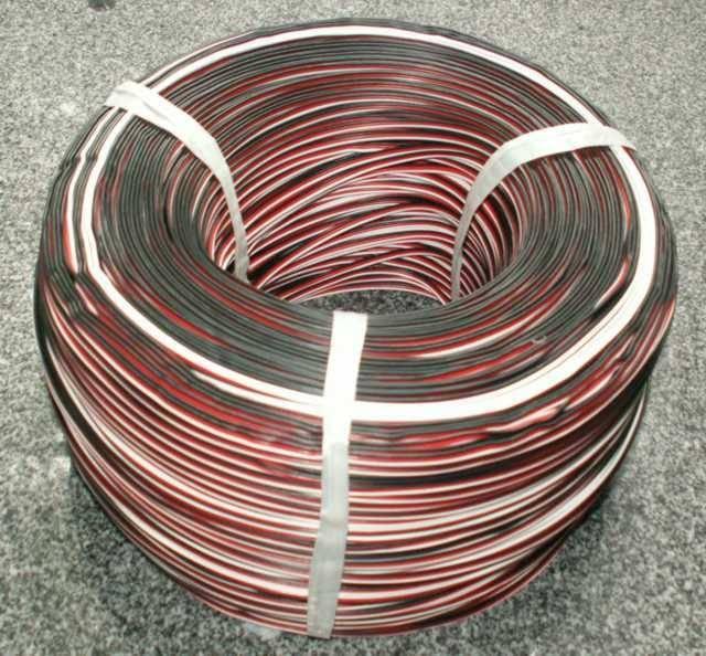 BEL - dobrá nabídka Servovodič plochý ČČB 0,12 mm2 metráž.