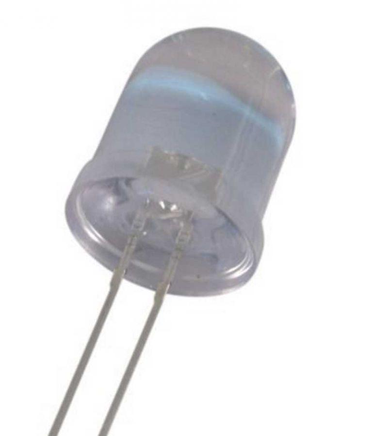 LED 10 mm červená