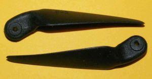 Folding propeller blades 6x3