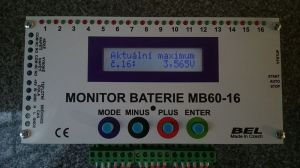 Monitor baterie MB60-16-3A