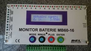 Battery monitor MB60-16-3A