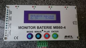 Monitor baterie MB60-4-6A