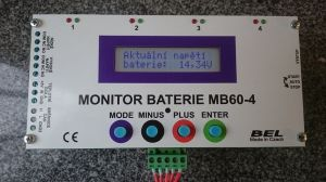 Battery monitor MB60-4-6A