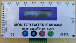 Monitor baterie MB60-8-3A
