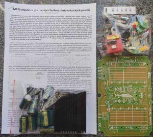 MPPS regulátor pro napájení boileru z fotovoltaických panelů - stavebnice
