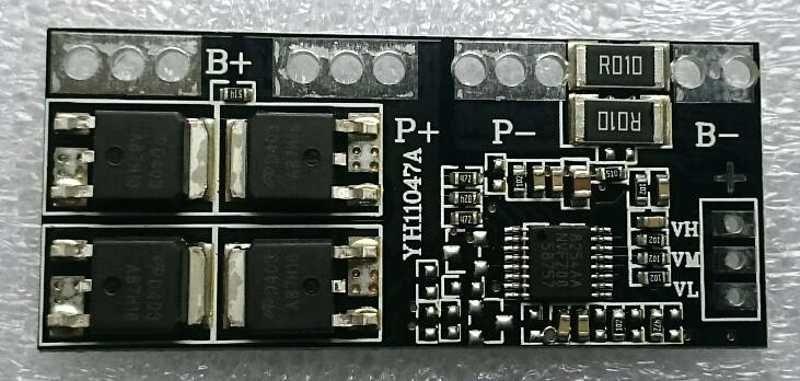 Ochranný obvod 4x Li-pol, 10 A