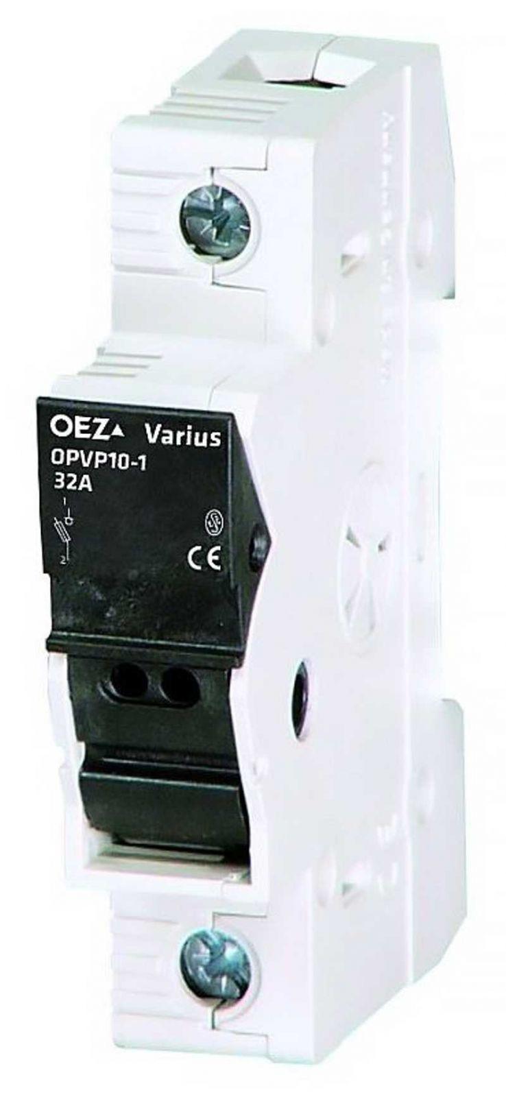 Odpínač OPVP10-1 s pojistkou 16A