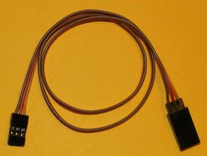 Servo extension cable JR/Hitec 45 cm