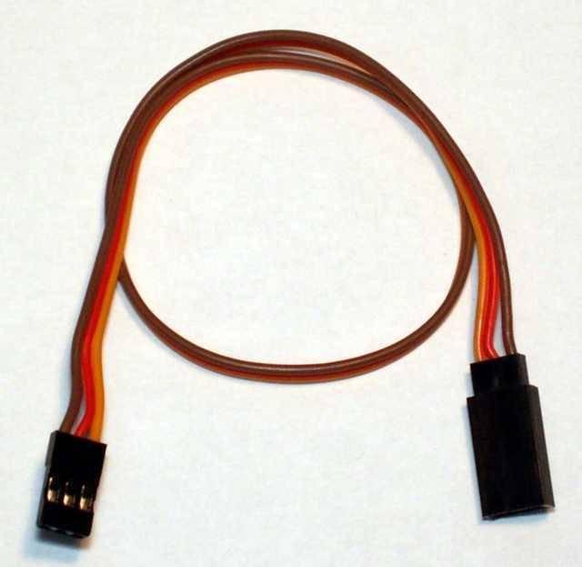 BEL - dobrá nabídka Prodlužovací kabel JR/Hitec 30 cm.